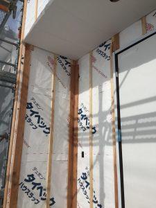 甲府市T様の注文住宅の外壁工事