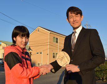 平野美宇さんのご自宅をトップホームズが建てさせていただきました