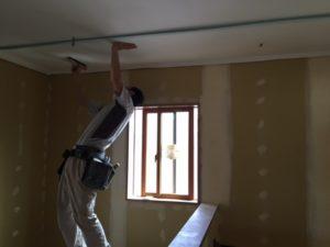 甲府市I様の注文住宅の内装工事